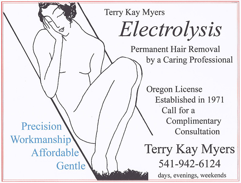 Eugene Electrolysis and hair removal in Cottage Grove